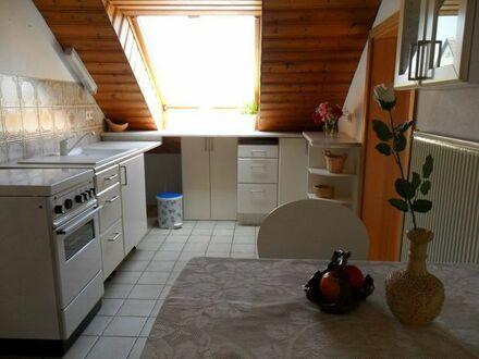 Kuschelige Dachgeschoss-Wohnung 2,5 Zimmer - mit Bio-Gartenanteil