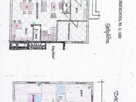 Vermiete großzügige Maisonette- Wohnung