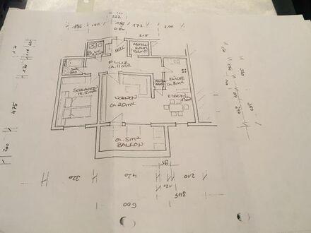 Großzügig geschnittene 2-Zimmer-Erdgeschosswohnung mit Balkon und Einbauküche in Schönaich