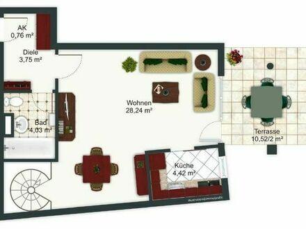 Suche Zwischenmieter für eine 2 Zimmer Wohnung in Dachau (Dezember-Mai)