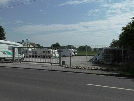 Abstellplatz für Wohnwagen und -mobile