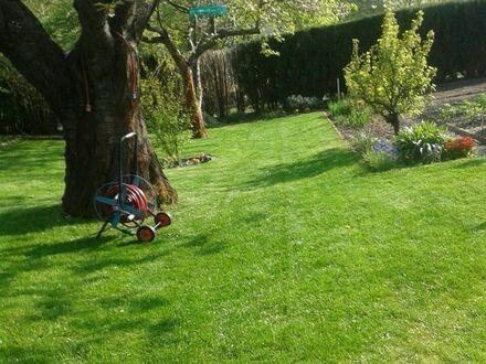 Garten auf Eigentumsland