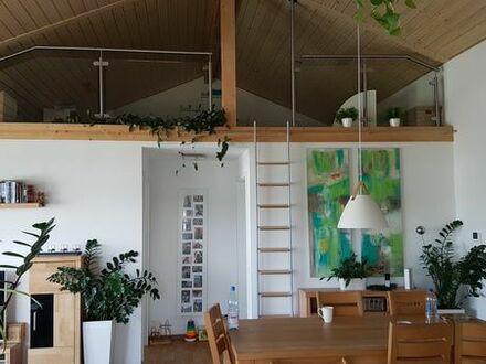 Kronau - Helle 4 Zimmer-Wohnung m. Dachterrasse 1. 520, - warm