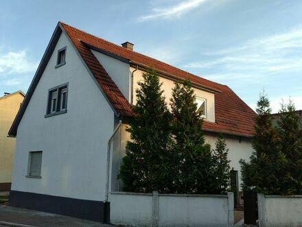 Haus in Wiesloch, renoviert, 400m2 Grundstück, ca 105m2 Wohnfläche
