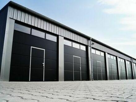 Warmhalle Gewerbehalle für Produktion, Lager oder Büro - 60 qm -300 qm