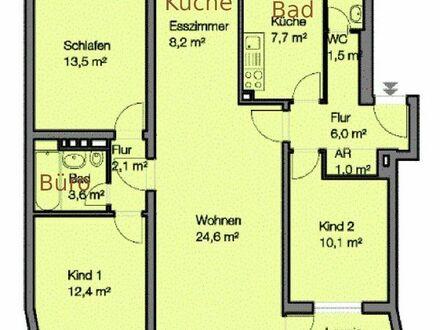 4,5-Zimmerwohnung in grüner Umgebung