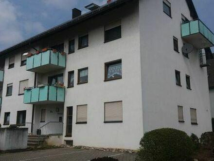 * Zwei-Zimmer Wohnung mit Balkon in Aglasterhausen *