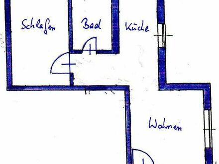 Suche ruhigen Nachmieter für unsere ca. 48m2 große 2-Zimmer-DG-Wohnung in Bischberg.