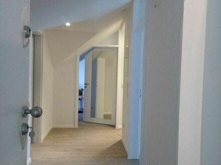 Wohnung mit Penthouse Charakter, sonnige und ruhige Lage