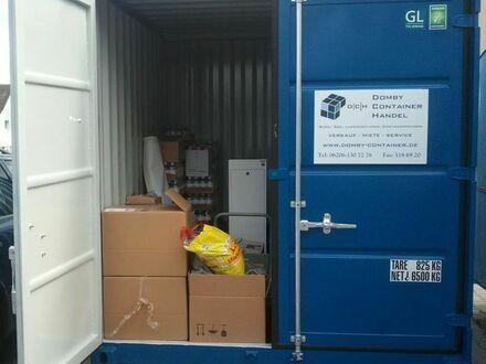 Lagerraum/Abstellraum im See-/Lagercontainer in 68642 Bürstadt
