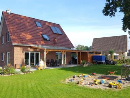 Neues Einfamilienhaus für die ganze Familie! Wohngebiet Westerburger Weg in Huntlosen!