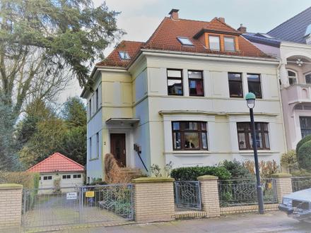 Bremen-Am Bürgerpark/ Schwachhausen! Altbauperle in gefragter Lage!