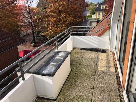 Ruhige Dachgeschosswohnung über der Ammerlandpassage!