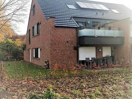 Erstklassige Terrassenwohnung im 4-Familienhaus! Sehr beliebte Wohnlage –Mitten in Wildeshausen!