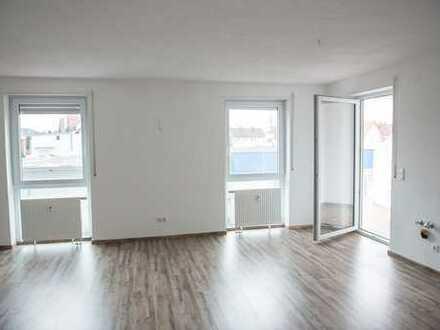 Vollständig renovierte 3-Zimmer-Wohnung mit Balkon in Vöhringen