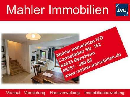 Großes Einfamilienhaus mit Garten, Terrasse, Küche & 1 Balkon in bevorzugter Lage von Bensheim Stadt