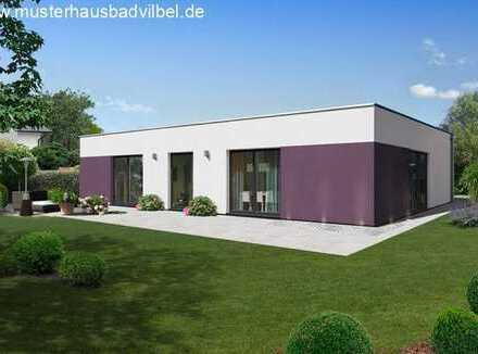 Raus aus der Miete, rein ins Eigenheim!! Moderner Bungalow mit Bodenplatte und Grundstück !