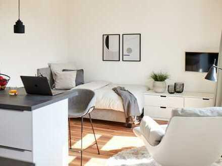 Sonniges Wohlfühl-Apartment in Düsseldorf (alles drin)