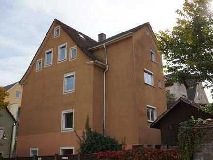 RESERVIERT Altstadthaus in Ellwangen mit kleinem Nebengebäude - unter Denkmalschutz -