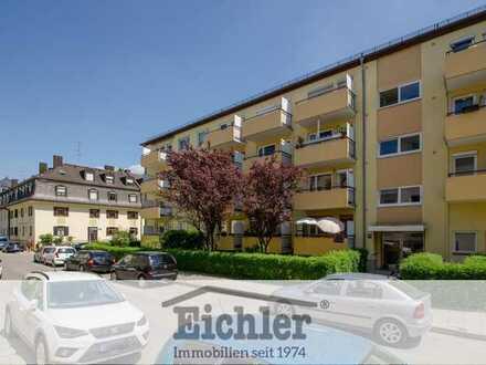 EICHLER IMMOBILIEN: Große 2-Zimmer-Wohnung mit Westbalkon, nähe BMW & OEZ