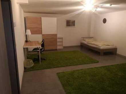 Erstbezug: geräumige 1-Zimmer-Wohnung mit gehobener Innenausstattung zur Miete in Nußloch