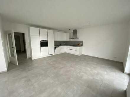 Erstbezug: exklusive 3-Zimmer-EG Wohnung mit Einbauküche und Garten in Bad Schönborn
