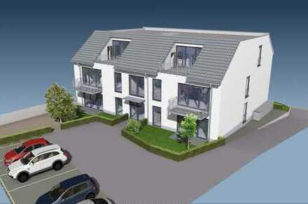 Neubau: Moderne, KfW 55 A+ ca. 108 m2 Wohnung im EG mit Terrasse und eigenem Garten in Brühl