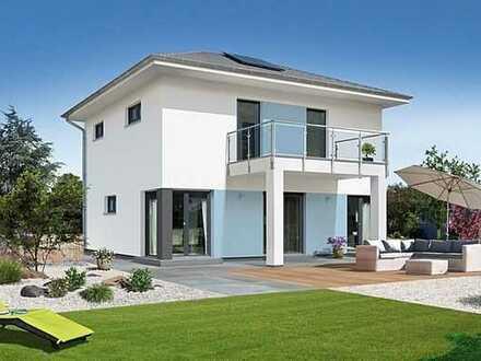 Auf einem Grundstück in Hilst Neubaugebiet ein besonderes Haus bauen!