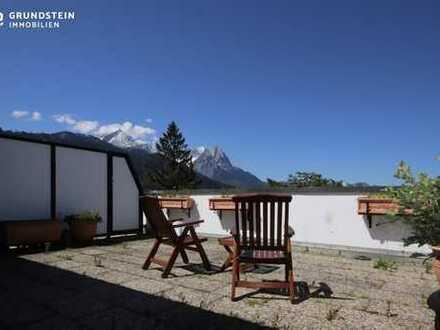 ***VERKAUFT*** Großzügige Dachterrassen Wohnung mit atemberaubendem Alpenblick