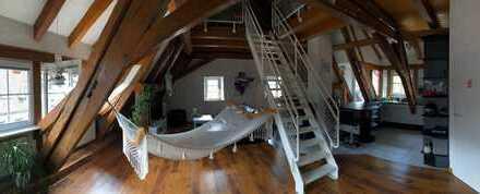 Exklusive, offene 2-Zimmer-Maisonette-Wohnung mit Terrasse in Schopfheim - Langenau