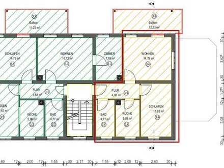 Gemütliche 2-Zimmer Wohnung im Herzen von Hausen