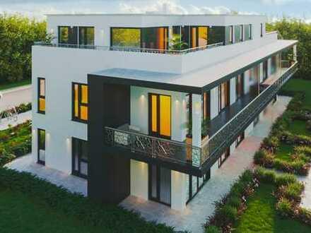 Luxus-Neubau Penthouse mit Dachterrasse im Fugger Palais Schwabmünchen