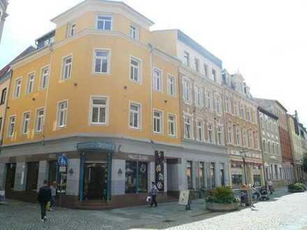 helle 4-Raum (oder 3-Raum) -DG-Wohnung mit schönem Balkon - Erstbezug nach Sanierung - Innenstadt