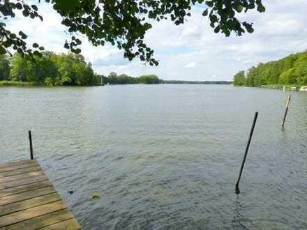 Wassergrundstück m. Bootssteg für Freizeit und Erholung
