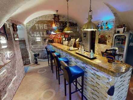 """Shisha Bar """"The Wall"""" im Herrenhaus Geislingen"""