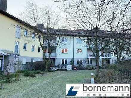 Büchenbach-West! Freie 3-Zi.-ETW mit TG, EBK + Balkon