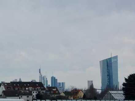 Skyline Blick: 3 oder 4 Zimmer-Wohnung mit Natur als Nachbar, 2 Balkonen und Einbauküche - ERSTBEZUG