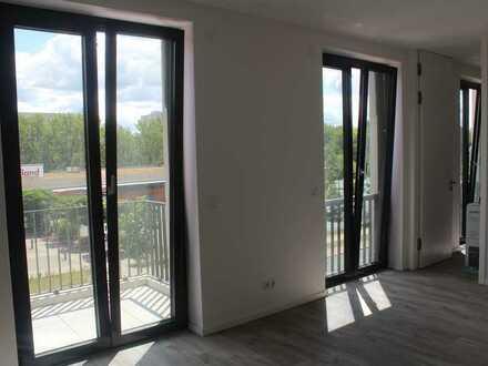 Erstbezug nach Neubau! 2-Zimmer-Wohnung mit Balkon und Einbauküche in Lichtenberg
