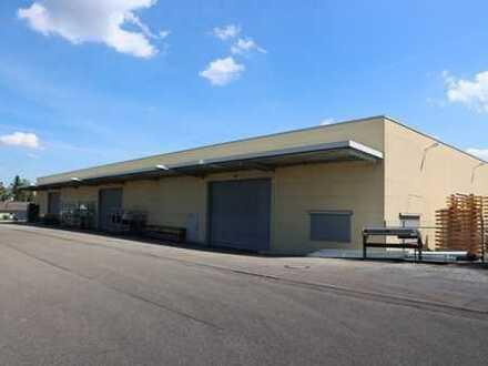 Großzügige Gewerbehalle mit ca. 1200 m² Fläche für Produktion oder Lager in Sersheim...
