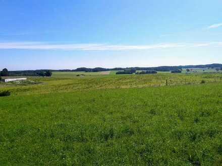 * Traumhaftes Bauernhaus mit Stallungen, Ackerfläche, Bergblick *