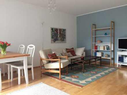 Möbliert: Ruhige, helle Wohlfühl-Wohnung in der Isarvorstadt