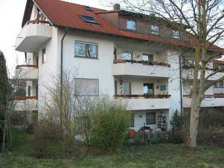 Kapitalanlage: Gepflegte 2-Zimmer-Terrassenwohnung incl. Stellplatz in Konstanz-Dettingen