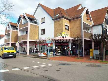 Vermietete Ladenflächen im Zentrum von Hemsbach