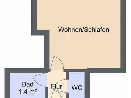 Mitten in der Altstadt ! 20m² Apartment - ohne Küche ! - für Studenten oder Berufspendler