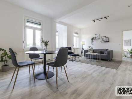 Wunderschöne 3-Zimmer-Wohnung - denkmalgeschützt - unverbaubarer Blick ins Grüne