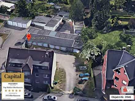 Baulücke mit 4 Garagen in Oberhausen-Sterkrade