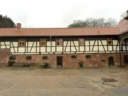 Sehr schöne Wohnung in Unter-Mossau. Biologische Bauweise, Wärmepumpe