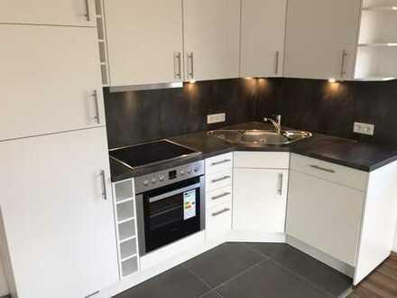 Sanierte Terrassenwohnung für gehobene Ansprüche 50 m², 2 Zimmer, Einbauküche, Stellplatz, Keller
