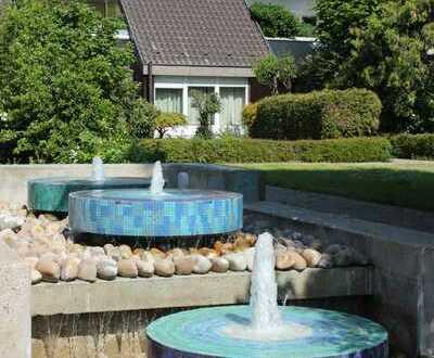 Wohnen im Grünen - Terrassenwohnung mit Garten, Schwimmbad, Sauna und Fitness in Flein (Heilbronn)