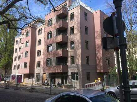 Erstbezug im barrierefreien Niedrigenergiehaus, grosser Balkon, Garten und Luxusbad